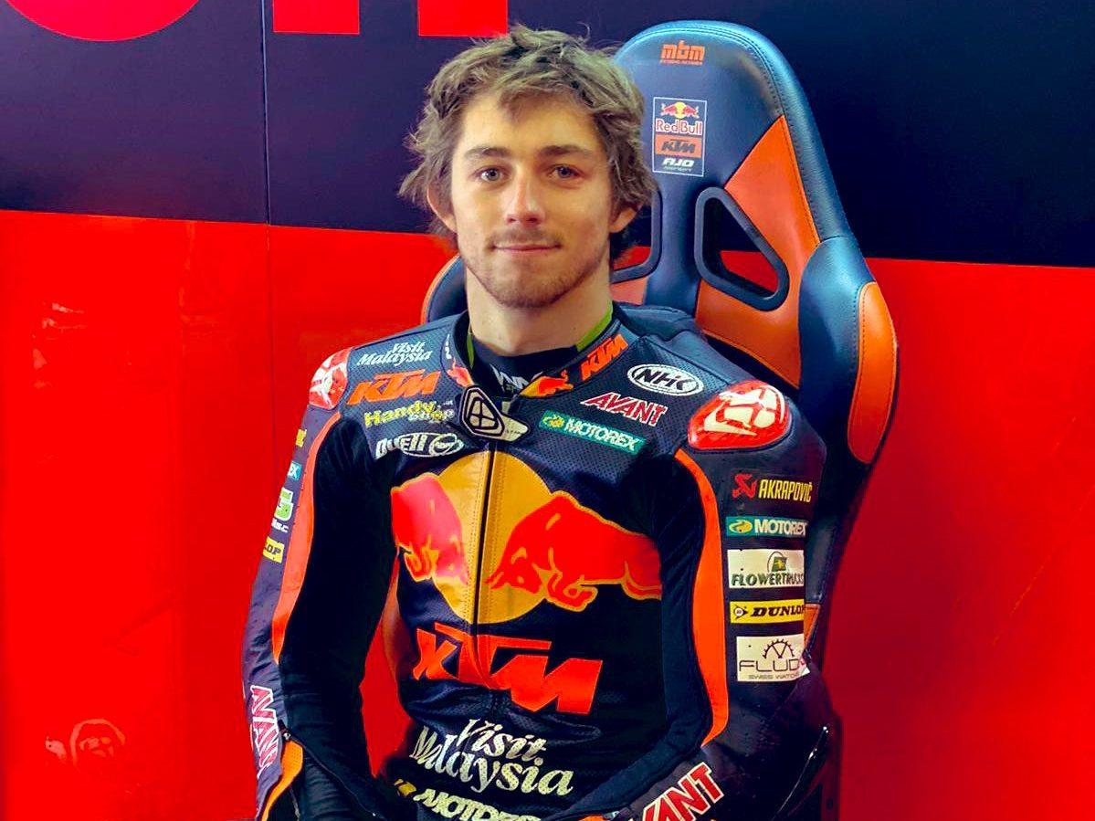 Moto2: Remy Gadner mete miedo en los Tests de Portimao