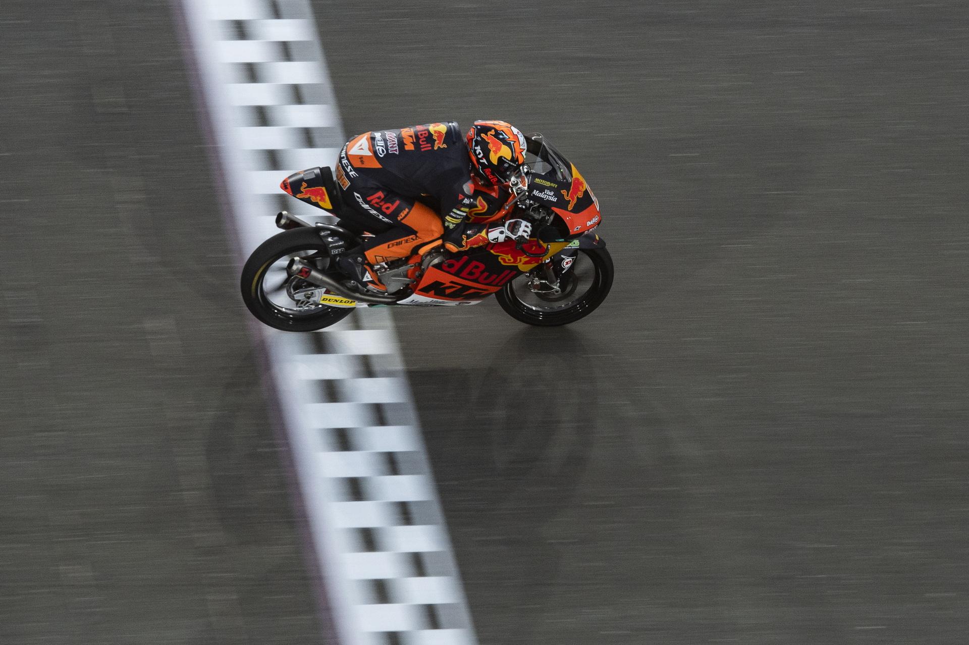 Resultados de la clasificación de Moto3 en el Gran Premio de Doha