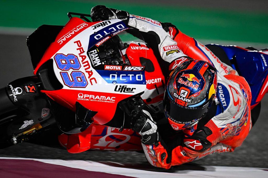 Jorge Martín se hace con la pole en su segunda carrera de MotoGP