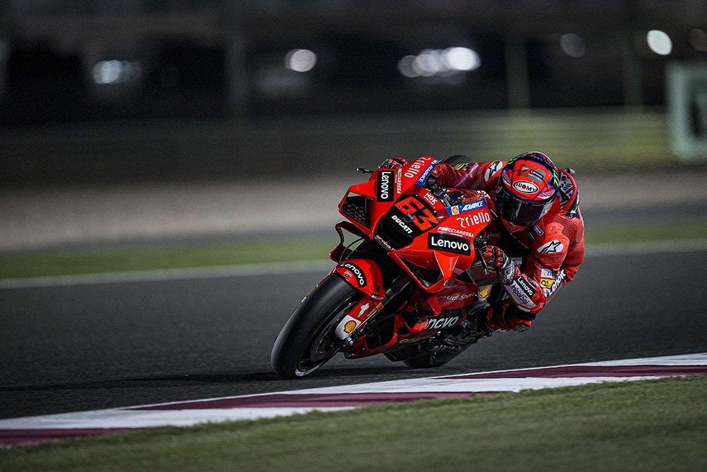 Parilla de salida MotoGP Gran Premio de Qatar