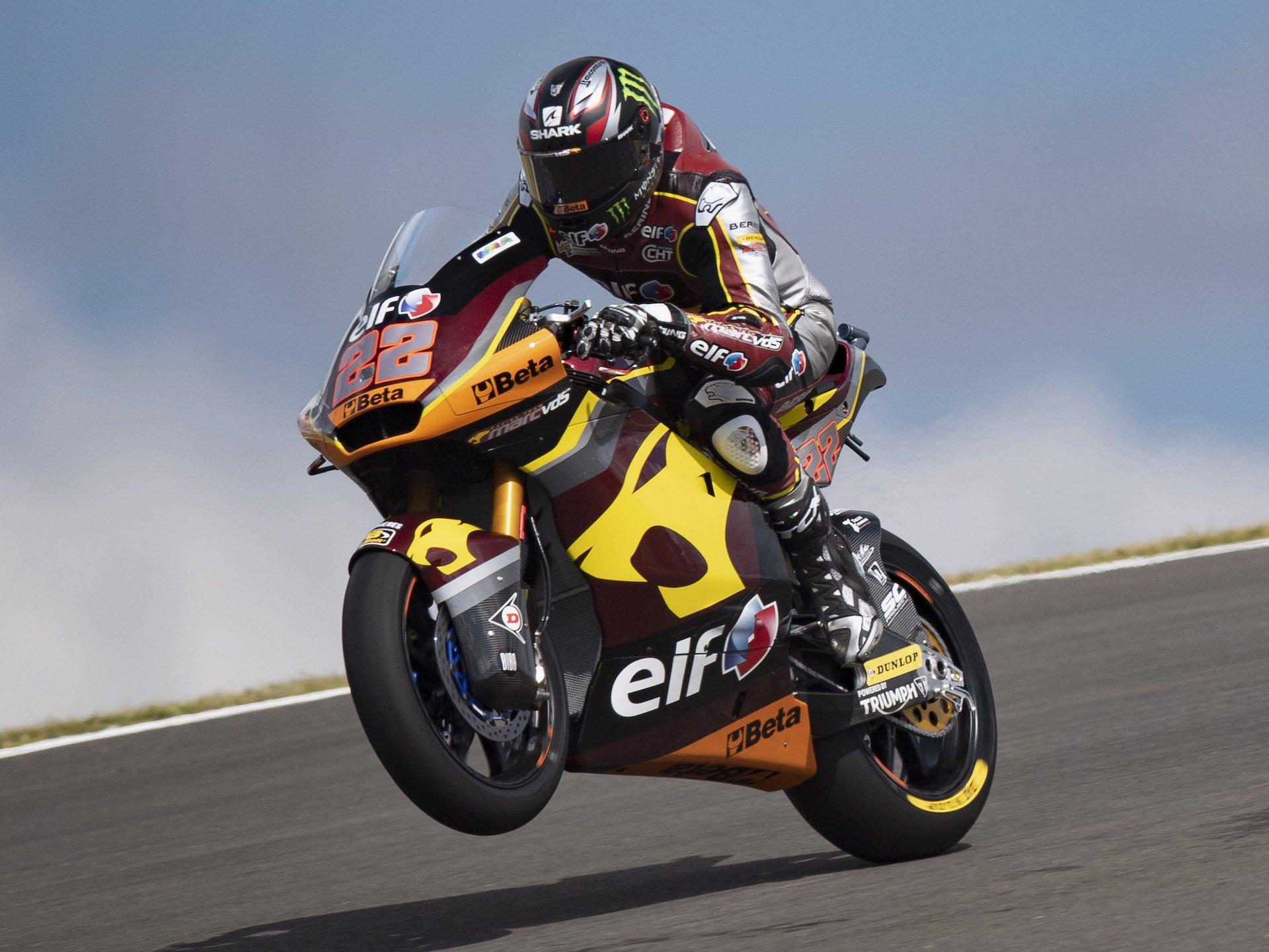 GP Portugal, parrilla de Moto2: pole para Lowes, Vierge primera línea