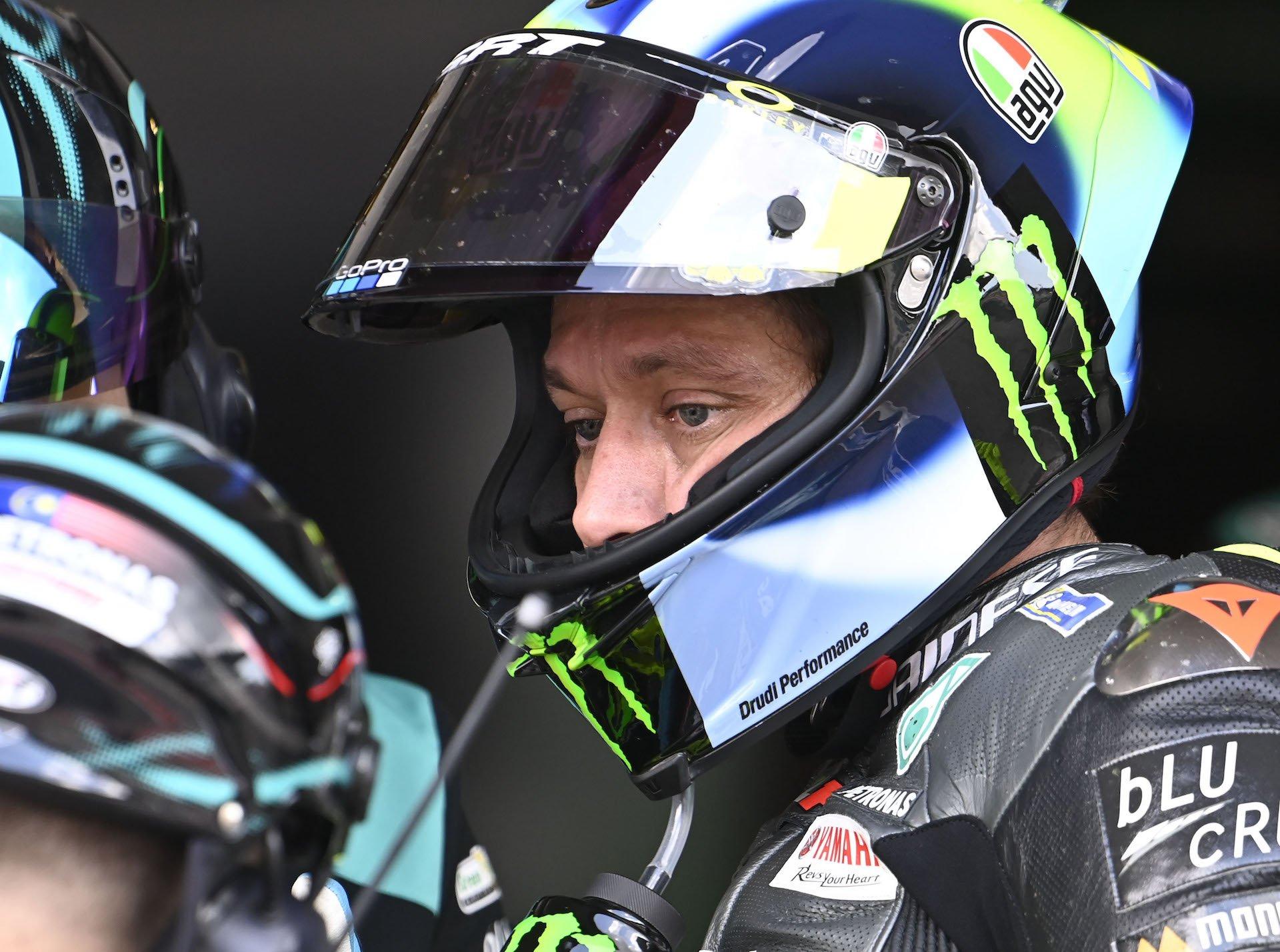 Valentino Rossi: Cuando Michelin no ayuda