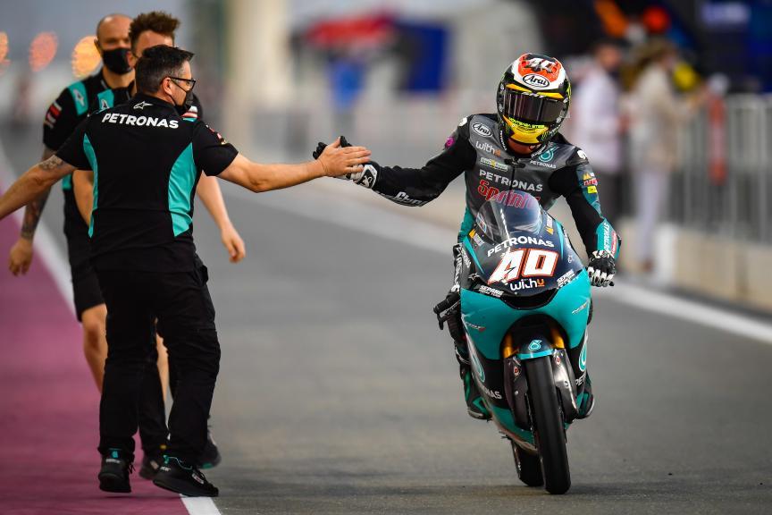 Resultados de Moto3 del viernes en el Gran Premio de Doha