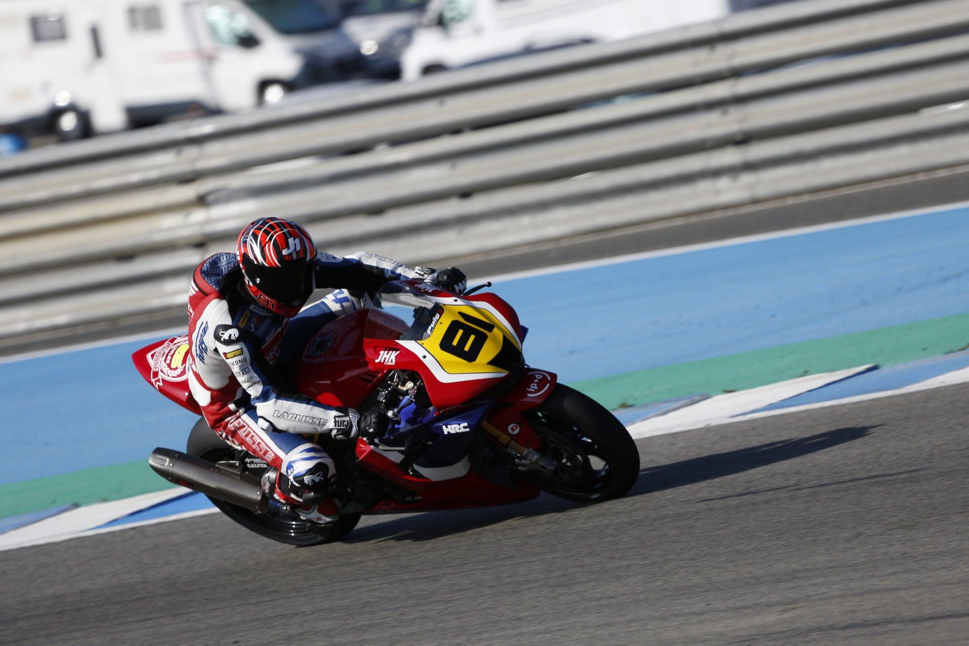 Comenzó el ESBK en el Circuito de Jerez