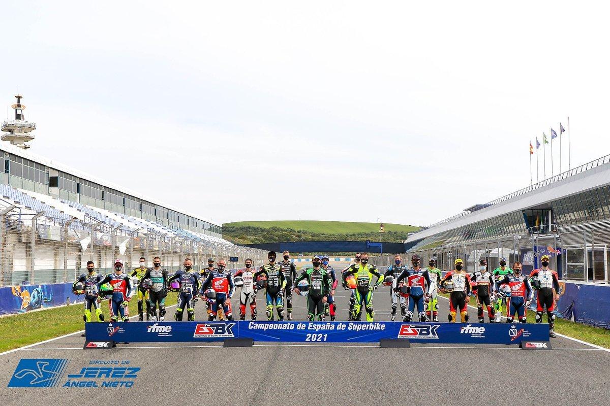 ESBK 2021 – Horarios carreras Jerez