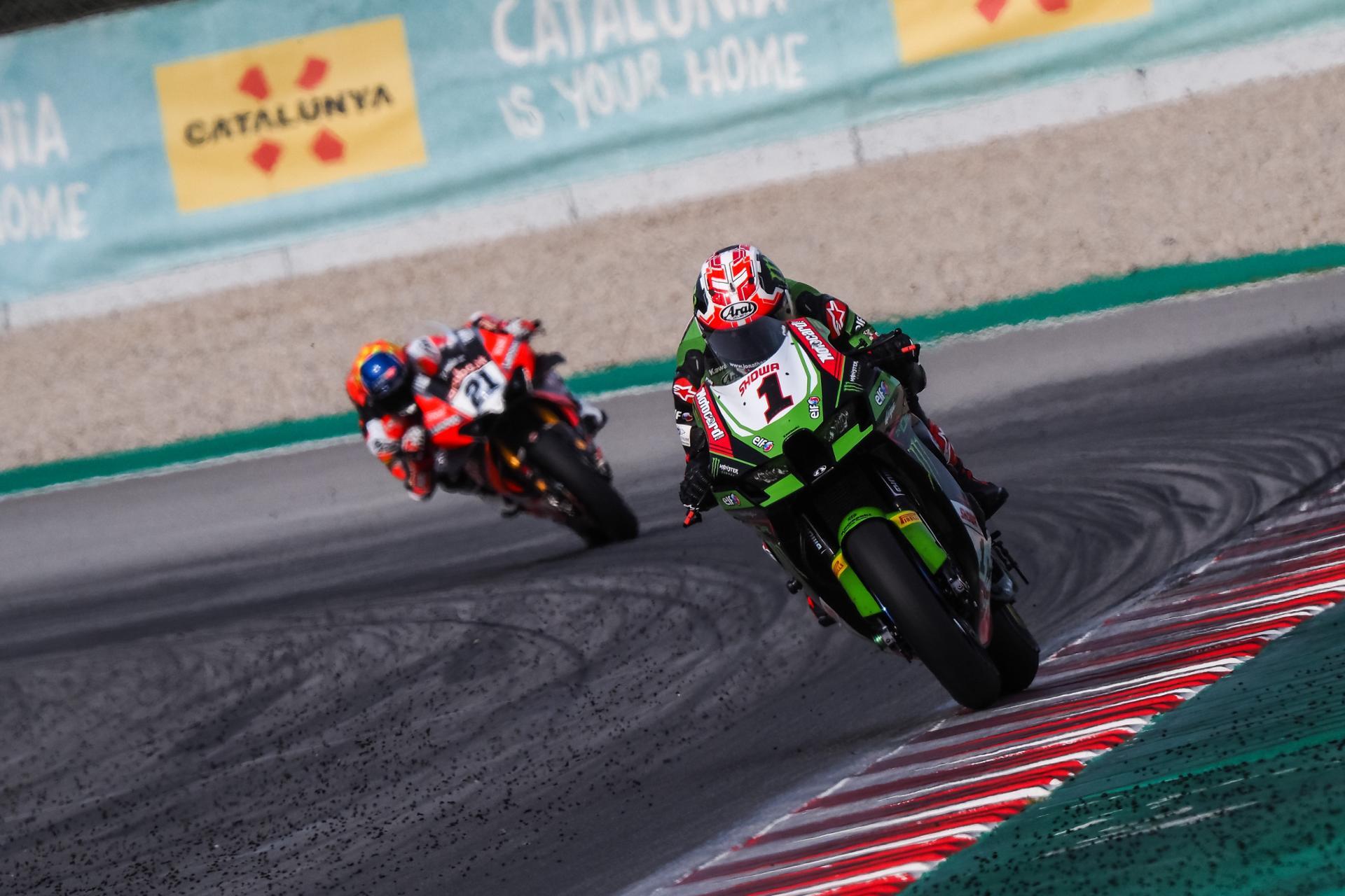 Finalizan los test del WorldSBK en el Circuit de Catalunya. Manda Rea