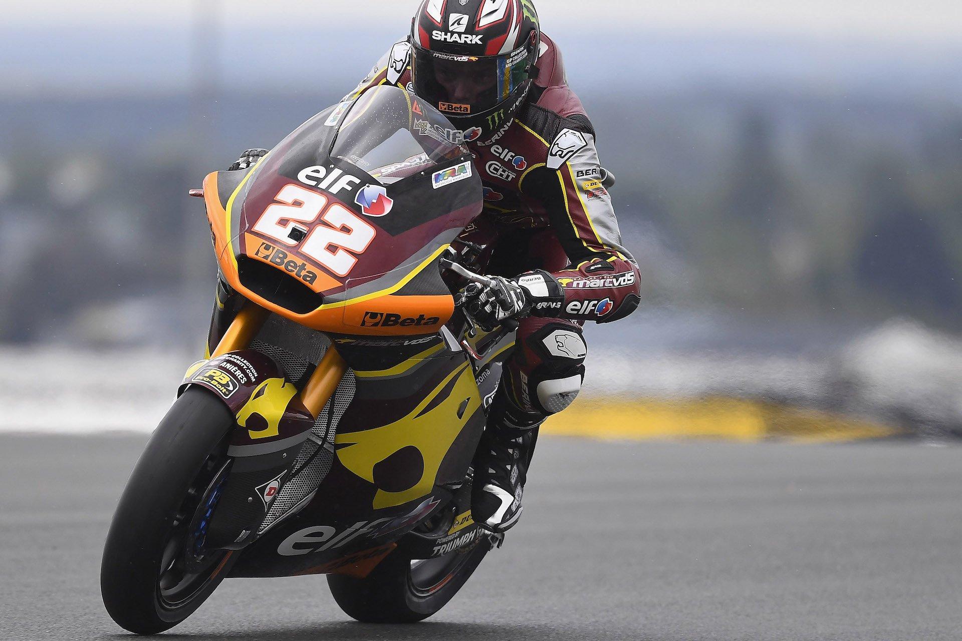 Gran Premio de Francia, combinada del viernes en Moto2: Lowes lidera, Fernández aprieta