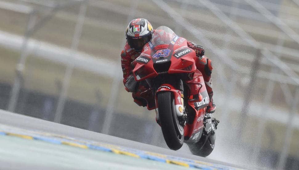 """Jack Miller, ganador en Le Mans: """"pensé que habría bandera roja"""""""