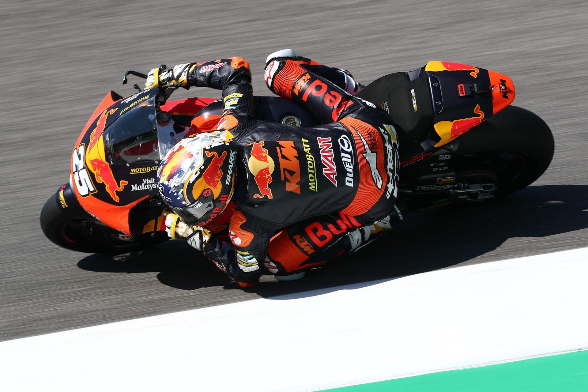Moto2: estratosférica pole de Raúl Fernández. Jorge Navarro, tercero