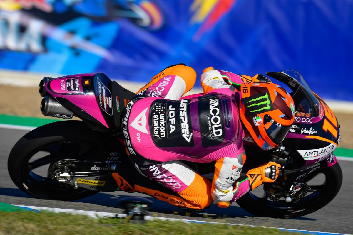 Gran Premio de la Emilia Romagna – Resultados FP1 de Moto3 con caída de Pedro Acosta [Vídeo]