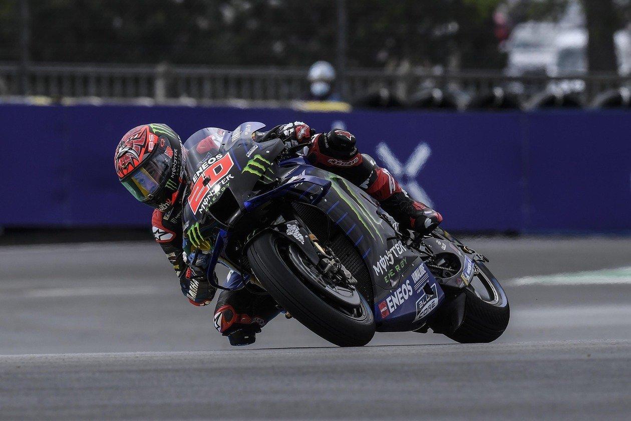 """Fabio Quartararo, líder de nuevo: """"Estoy rodeado por las Ducati"""""""