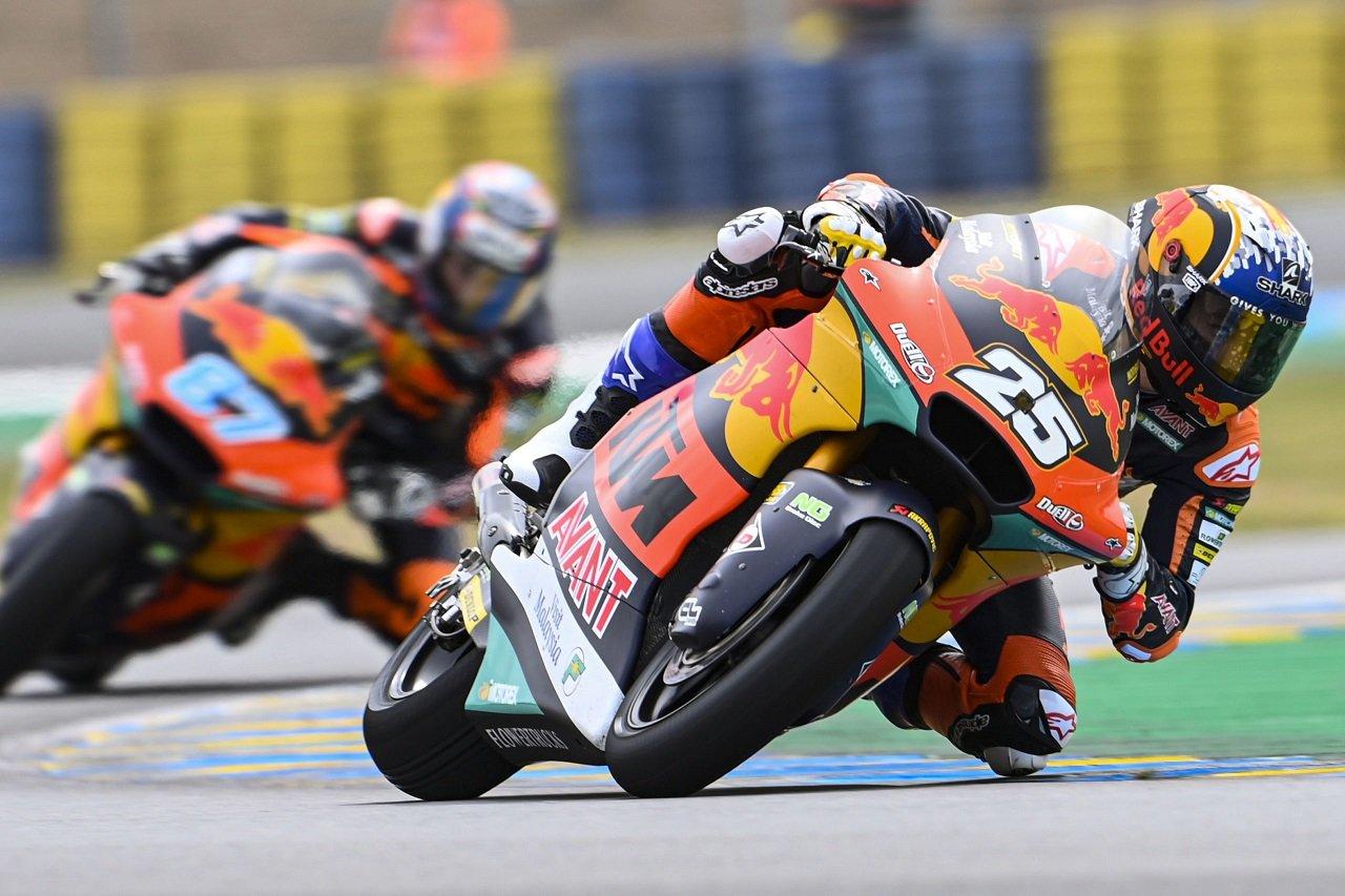 Gran Premio de Francia. Resultados de la carrera de Moto2