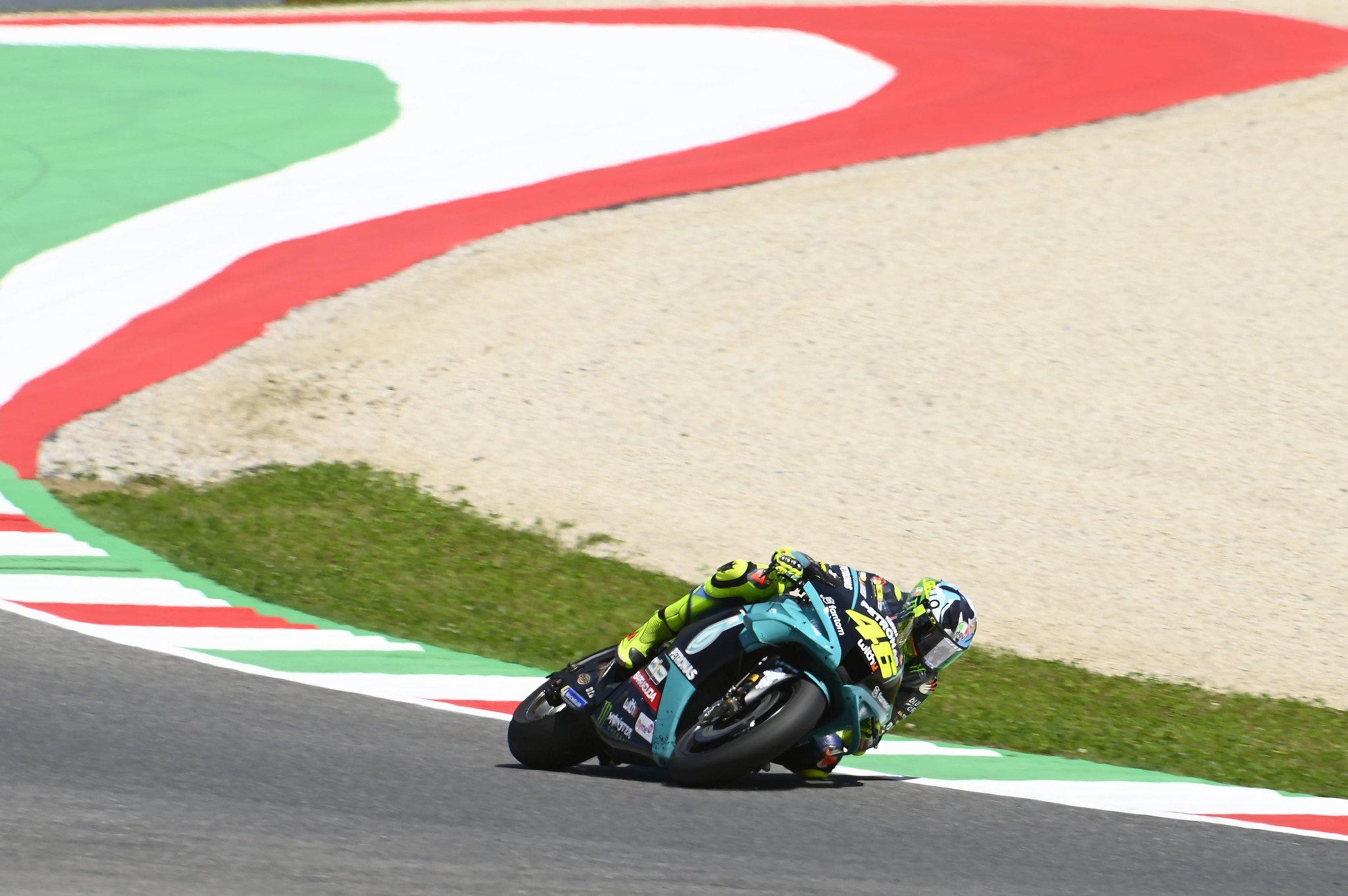 """Valentino Rossi """"Mi ritmo no está lejos de los 6 primeros"""""""