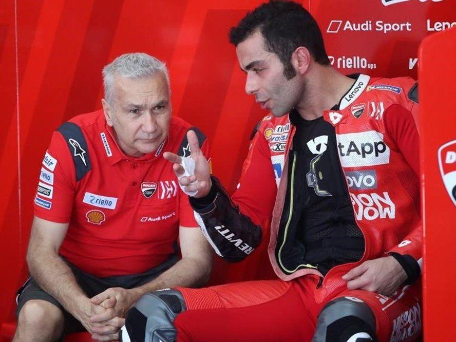 Davide Tardozzi: ¿Petrucci con Ducati? Ojalá se quedara en KTM