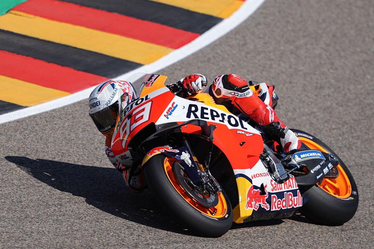 "Marc Márquez ""Apuntar al podio es arriesgado, va a ser una carrera larga"""