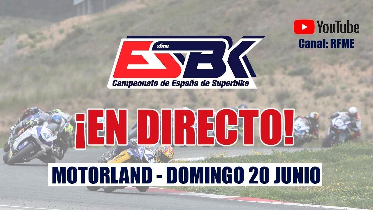 ESBK Motorland Aragón en directo