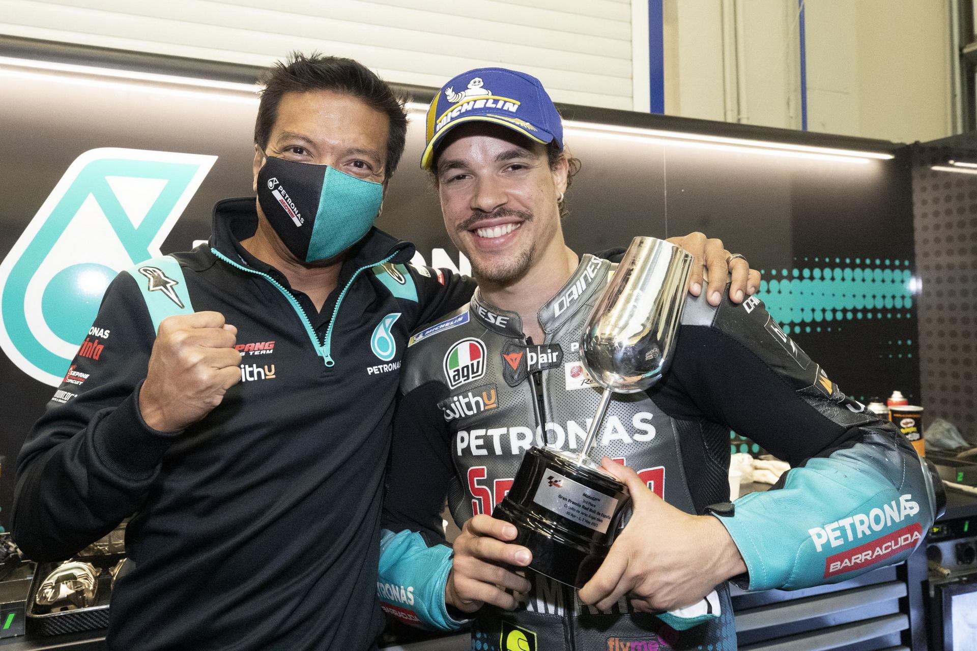 El 'Petronas' se transformará en el RNF MotoGP Racing