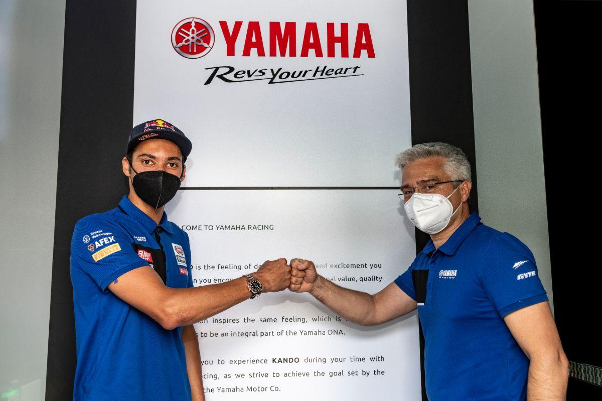 Toprak Razgatlioglu renueva dos años más con Yamaha