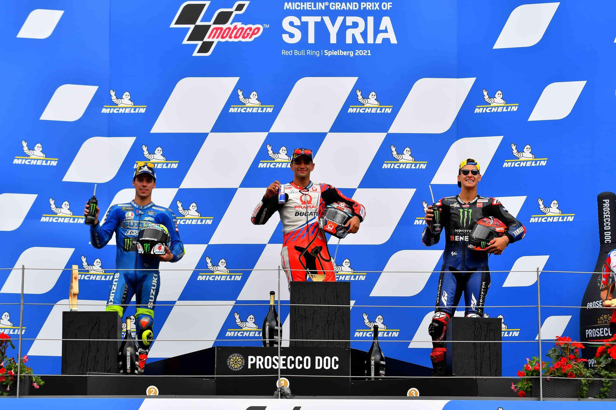 El podio de Estiria como balance de temporada