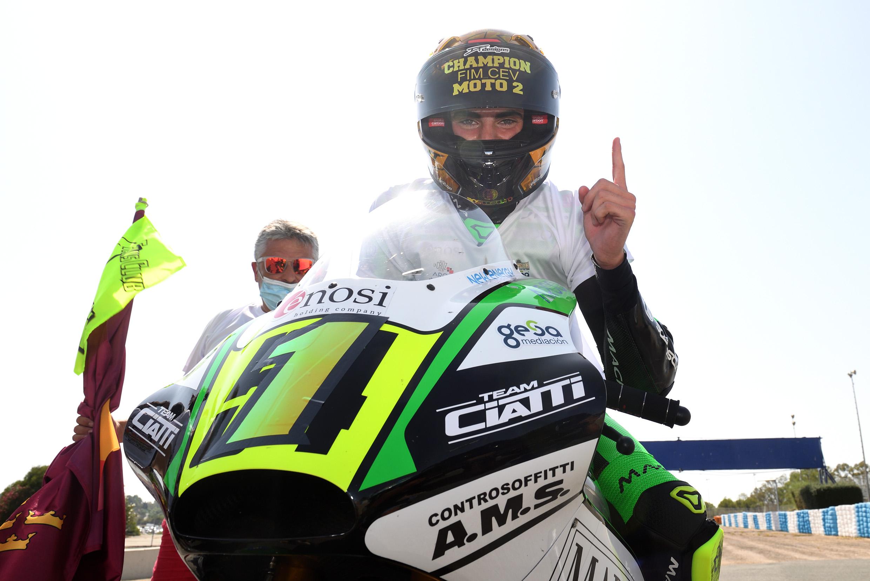 Fermín Aldeguer, Campeón del FIM CEV Moto2