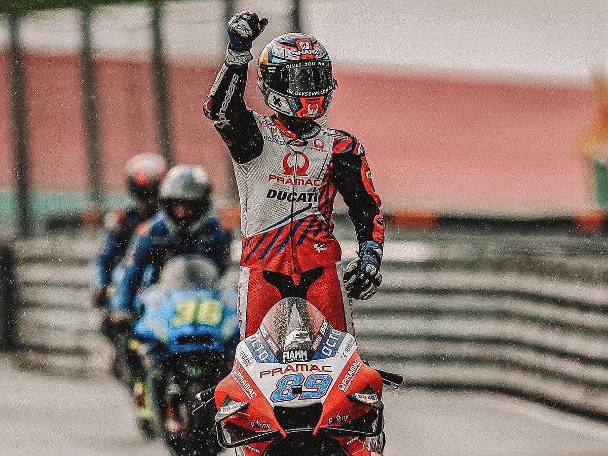 Austria: Jorge Martín, tercero, también brilla bajo la lluvia. Clasificación final de carrera