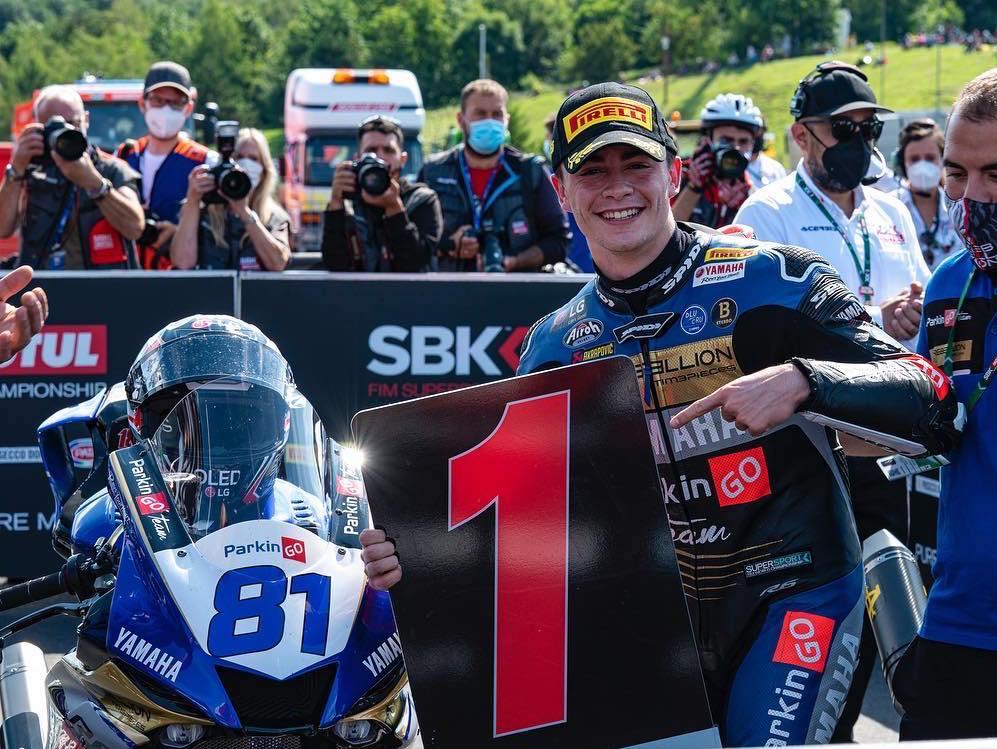 Manu González correrá en Moto2 en el YAMAHA VR46 MASTER CAMP TEAM