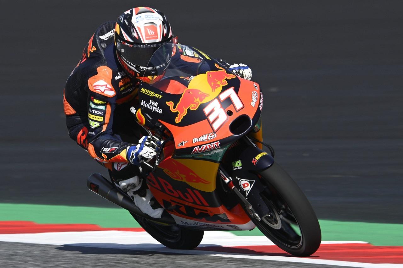 Gran Premio de la Emilia Romagna – Resultados FP2 de Moto3. Pedro Acosta manda