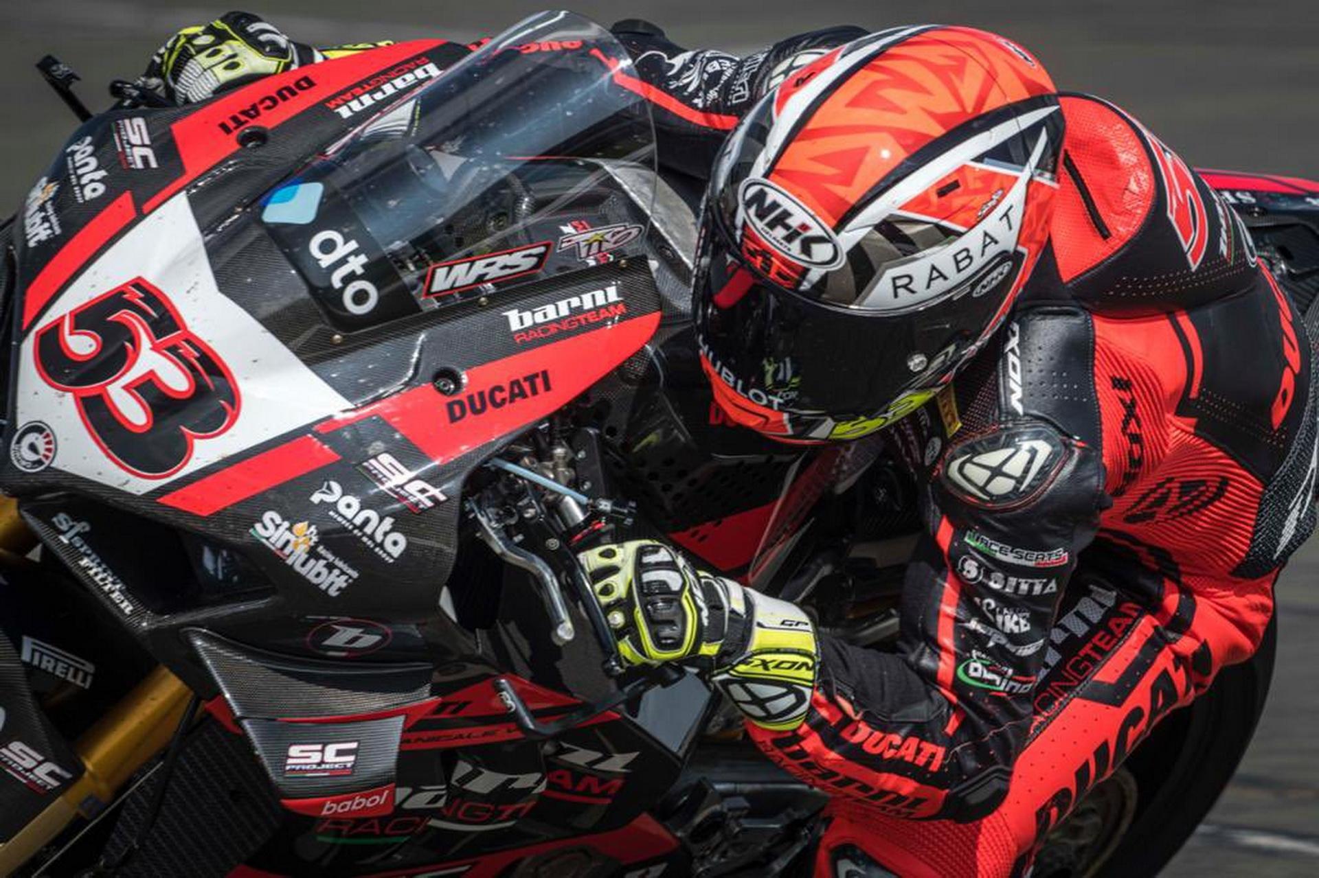 Tito Rabat y el Barni Racing Team rompen su colaboración
