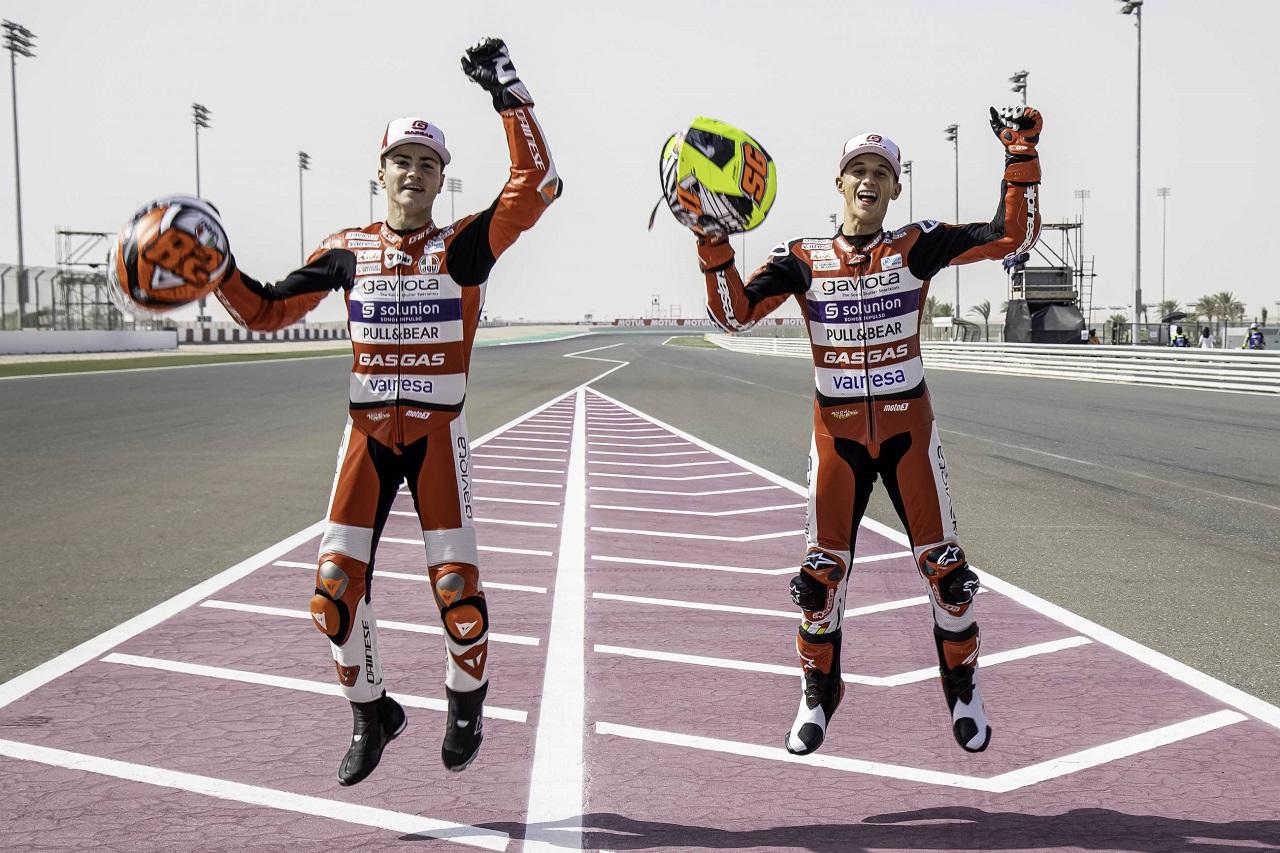 El Gaviota Aspar Team confirma a sus pilotos de Moto3 para volar alto