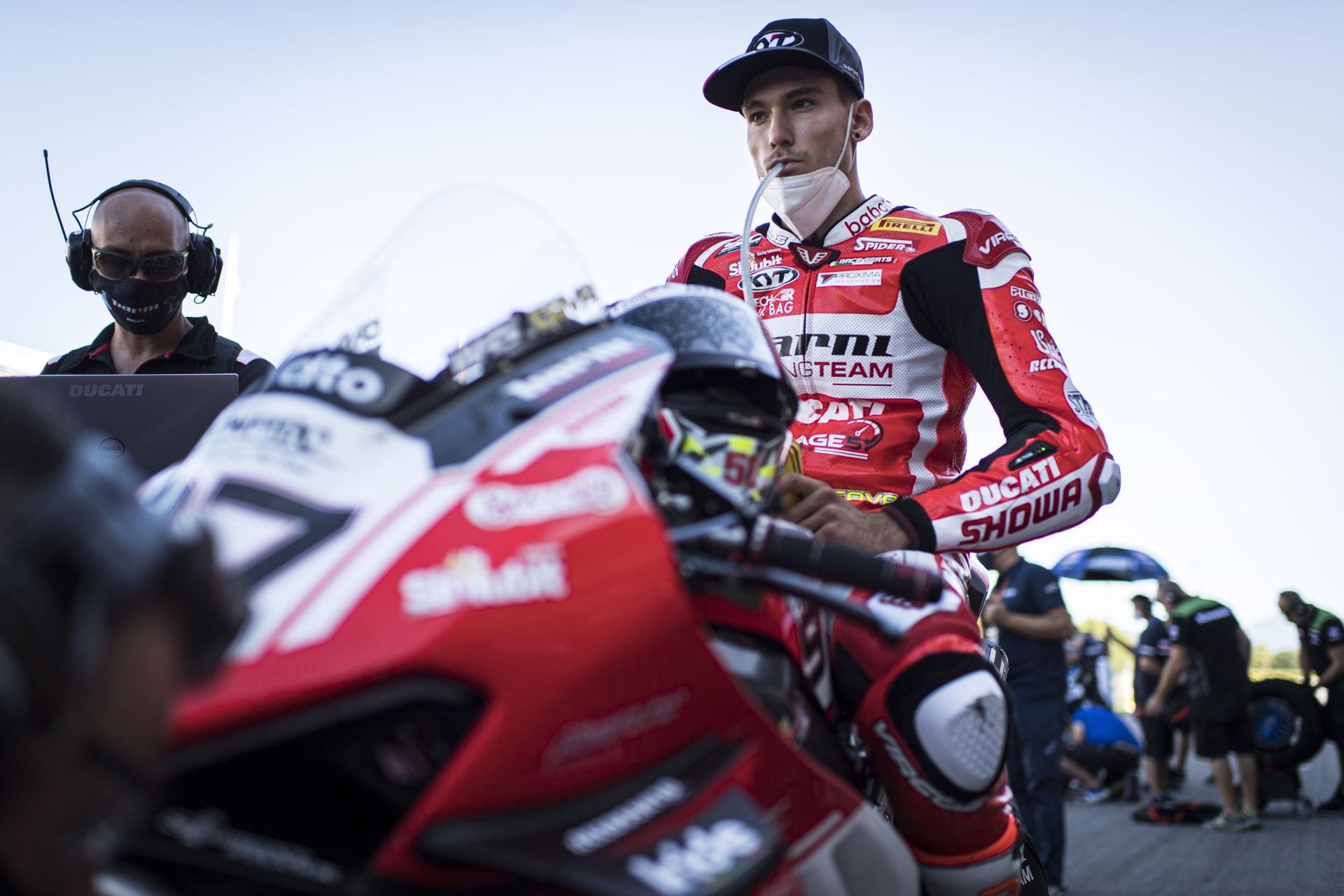Samuele Cavalieri terminará la temporada con la Ducati del Team Barni