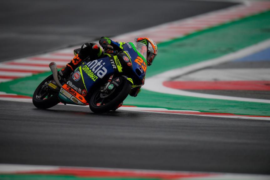 Gran Premio de la Emilia Romagna – Qualy de Moto3. Foggia con problemas