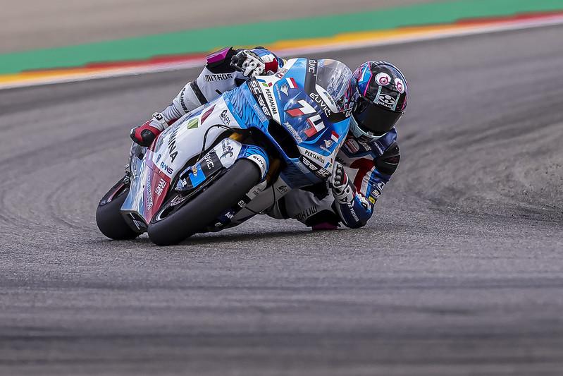 Piotr Biesiekirski terminará el año como Wild Card en Moto2